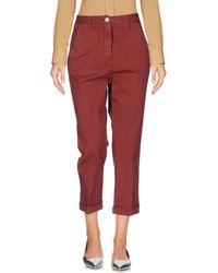 Boglioli - 3/4-length Trousers - Lyst