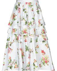 Leur Logette - 3/4 Length Skirt - Lyst