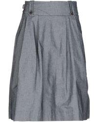 TRUE NYC - Denim Skirts - Lyst