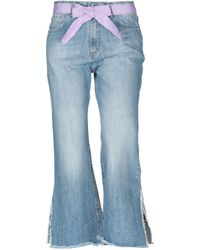 Motel - Denim Trousers - Lyst
