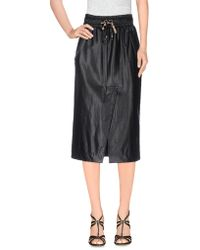 Manila Grace - 3/4 Length Skirt - Lyst