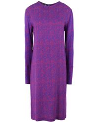 Laura Strambi - Knee-length Dress - Lyst