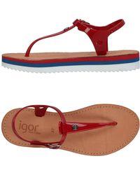 IGOR - Toe Strap Sandals - Lyst