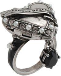 Alexander McQueen - Ring - Lyst