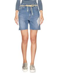 Pence - Denim Shorts - Lyst