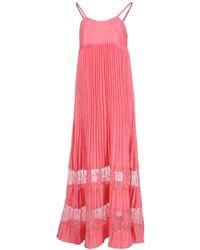 Scee By Twin-set - Long Dress - Lyst
