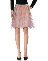 41e4342e5c RED Valentino - Knee Length Skirt - Lyst