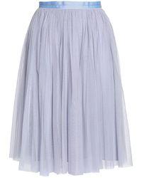 Needle & Thread 3/4 Length Skirt - Gray