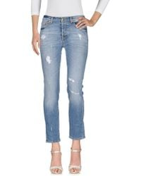Roy Rogers - Denim Trousers - Lyst