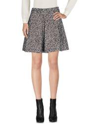 Hack - Mini Skirt - Lyst
