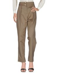 A.m. - Casual Trouser - Lyst