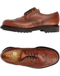 Sanders - Zapatos de cordones - Lyst