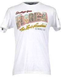 Marville - Short Sleeve T-shirt - Lyst