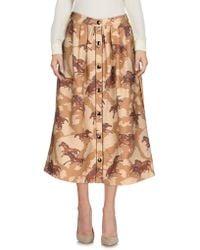 COACH - 3/4 Length Skirts - Lyst