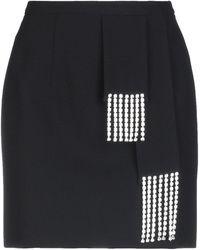 Christopher Kane Mini Skirt - Black
