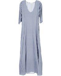 Stefanel - Long Dress - Lyst