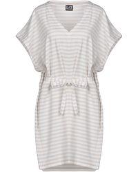 EA7 - Short Dresses - Lyst