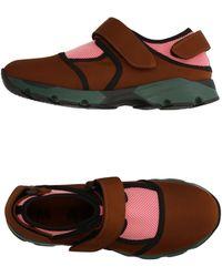 Marni - Low Sneakers & Tennisschuhe - Lyst