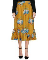 Manoush - 3/4 Length Skirt - Lyst