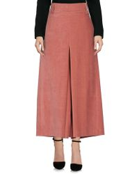 TRUE NYC - 3/4 Length Skirt - Lyst