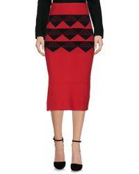 White Mountaineering - Knee Length Skirt - Lyst