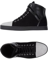 eb584549e17 Hogan Rebel High-tops   Sneakers in Black - Lyst