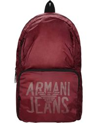 Armani Jeans - Backpack - Lyst