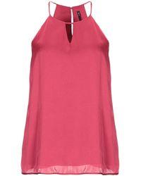 877f9065f6577 Lyst - Manila Grace Top in Pink