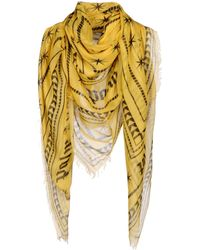 Palm Angels - Square Scarf - Lyst