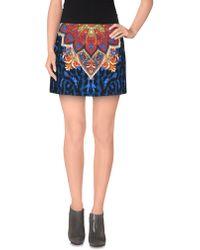 Just Cavalli - Mini Skirt - Lyst