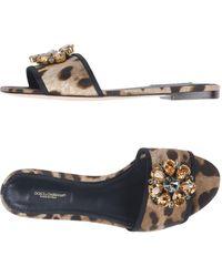 Dolce & Gabbana - Sandals - Lyst