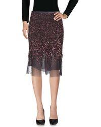 Ferré - Knee Length Skirt - Lyst