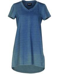 EA7 | Short Dress | Lyst