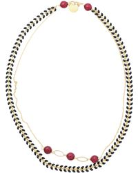 First People First Necklace - Red