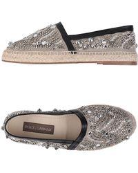 Dolce & Gabbana - Espadrillas - Lyst