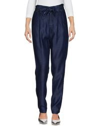Numph - Denim Trousers - Lyst