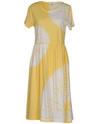 YMC - Knee-length Dress - Lyst