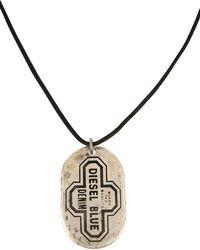 DIESEL - Necklace - Lyst