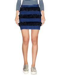Twisty Parallel Universe - Denim Skirt - Lyst