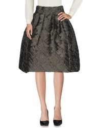 Io Couture | 3/4 Length Skirt | Lyst
