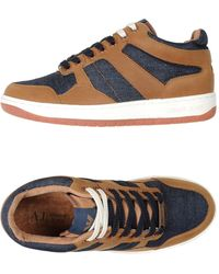 Armani Jeans - High-tops & Sneakers - Lyst