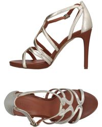Elvio Zanon - Sandals - Lyst