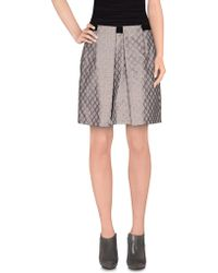 Schumacher - Knee Length Skirt - Lyst
