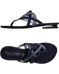 Chiara Pasquini - Toe Post Sandal - Lyst