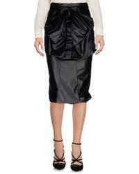 Daniele Carlotta - 3/4 Length Skirt - Lyst