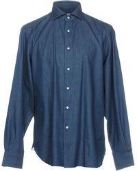 Mattabisch - Denim Shirts - Lyst