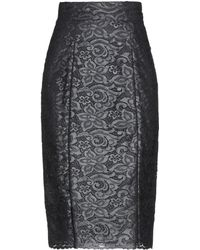 Annie P - 3/4 Length Skirt - Lyst