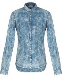 Scotch & Soda - Camicia jeans - Lyst