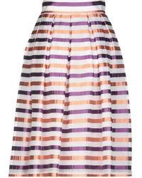 Fabrizio Lenzi - 3/4 Length Skirt - Lyst