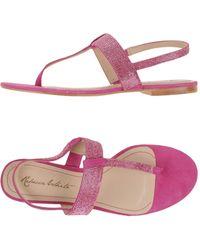 FOOTWEAR - Toe post sandals Rebecca White XFOKw6y